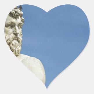 Neptune dans Florence02 Sticker Cœur