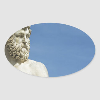 Neptune dans Florence02 Sticker Ovale