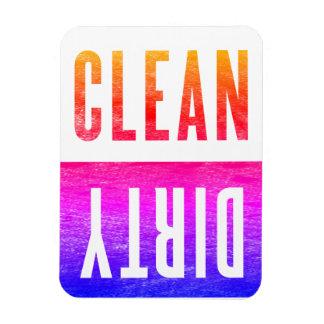 Nettoyez le lave-vaisselle sale Ipanema de style Magnets