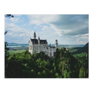 neuschwanstein castle carte postale