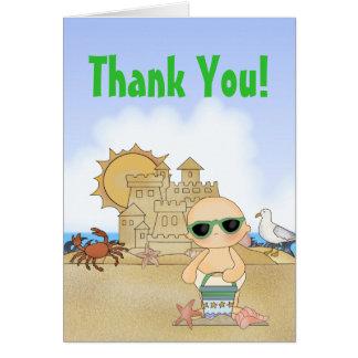 Neutre frais de ~ de carte de remerciements de