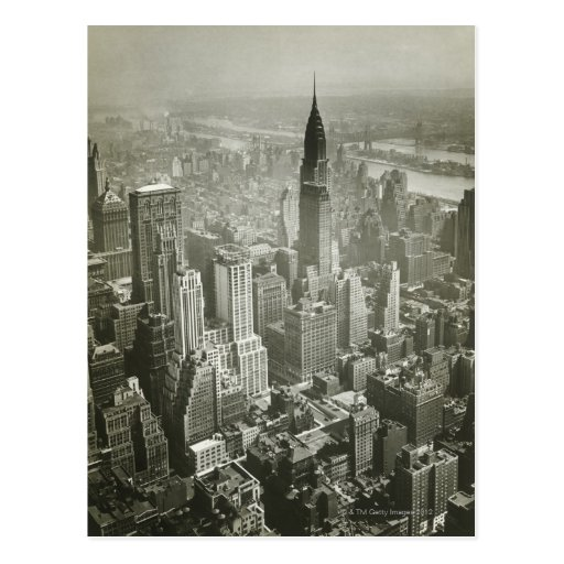 New York City Carte Postale