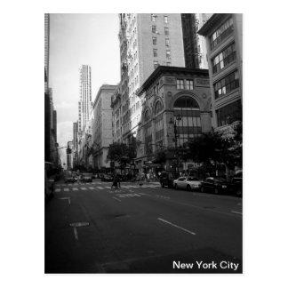 New York City noir et blanc Cartes Postales