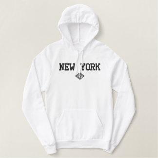 New York Etats-Unis a brodé le sweat - shirt à