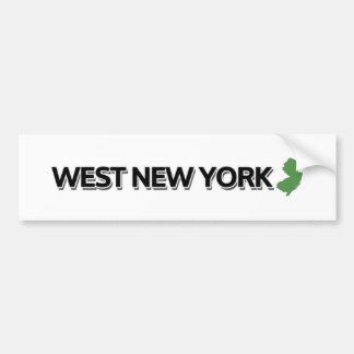 New York occidental, New Jersey Autocollant De Voiture