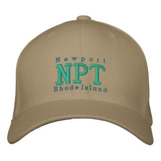 "Newport, RI ""TNP "" Casquette Brodée"