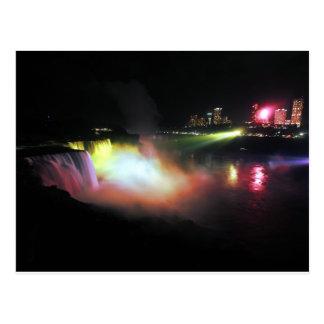 Niagara stupéfiant carte postale