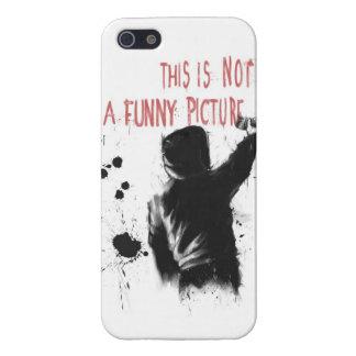 Niet grappig iPhone 5 case
