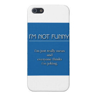 Niet Grappig iPhone 5 Cover