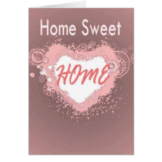 Nieuwe de gelukwensenkaart van het Huis Briefkaarten 0