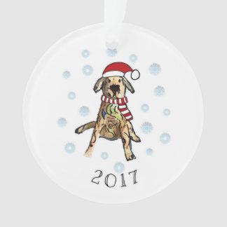 Noël 2017 de chien d'arrêt de Gloden