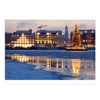 Noël à Hambourg Carte Postale