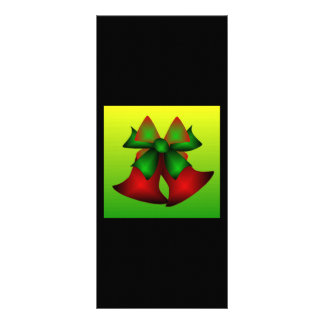 Noël Bells Double Cartes Customisées
