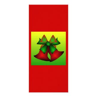 Noël Bells VII Motif Pour Double Carte