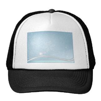 Noël bleu casquette de camionneur
