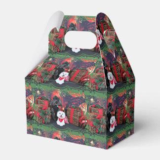 Noël - caniche d'Amiche - Tinkerbell maltais Boites De Faveur