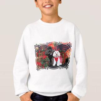 Noël - caniche d'Amiche - Tinkerbell maltais Sweatshirt