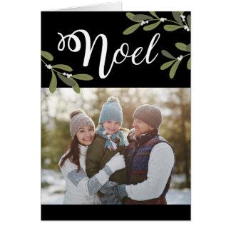 Noel - carte de voeux de photo de Noël