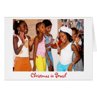 Noël dans la carte du Brésil