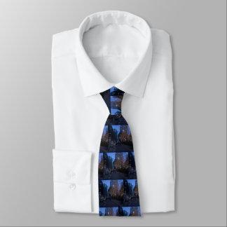 Noël dans les cravates des hommes d'affaires