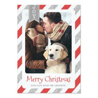 Noël de carte photo de Noël Joyeux
