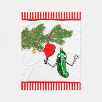 Noël de pickleball couverture polaire