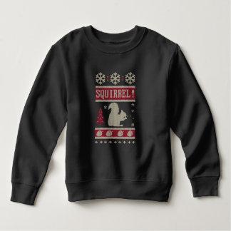 Noël d'écureuil sweatshirt