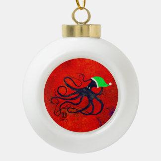Noël d'Octo de Sybille - ornement en céramique de