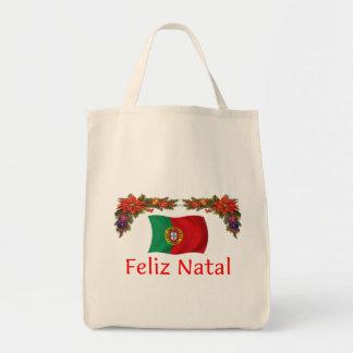 Noël du Portugal Sac En Toile Épicerie