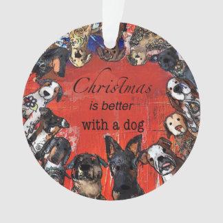 Noël est meilleur avec un chien