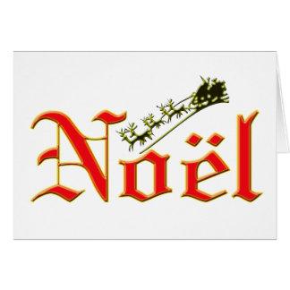 Noel et carte de Noël de Père Noël