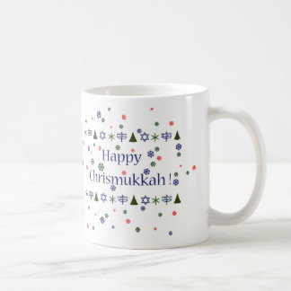 Noël et tasse combinée de Hanoukka