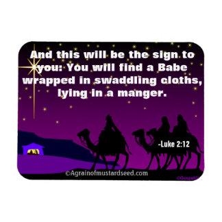 Noël Jésus Magnet Flexible