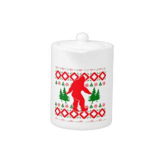 Noël laid Bigfoot