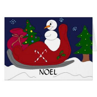NOEL - Noël Carte De Vœux