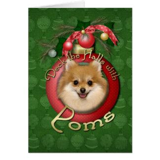 Noël - plate-forme les halls - Poms Carte