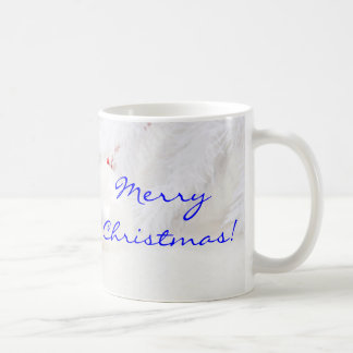 Noël rouge et blanc II de Noël Joyeux Mug Blanc