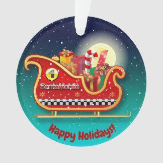 Noël Sleigh de la magie de Père Noël
