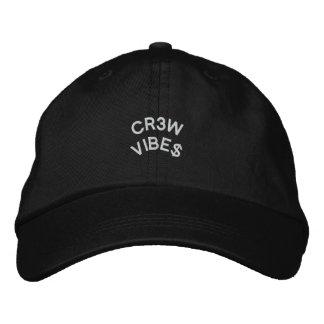 Noir de casquette de papa de VIBRAPHONE d'ÉQUIPAGE