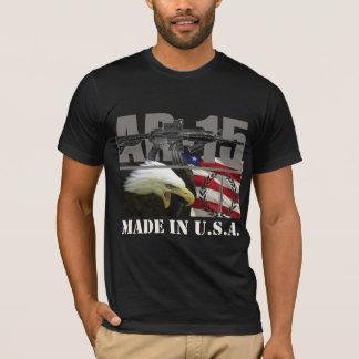 Noir de chemise d'AR-15 Etats-Unis T-shirt