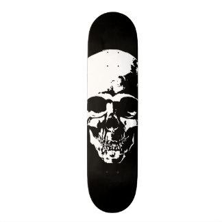 Noir de crâne skateboards