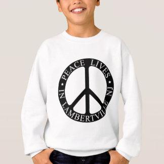 Noir de paix de Lville Sweatshirt