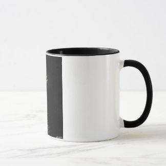 Noir de perroquet de gris africain tasse de