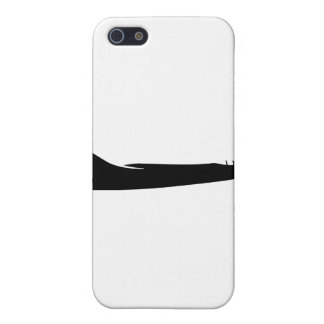 Noir de silhouette des Etats-Unis RA3B Skywarrior Coque iPhone 5