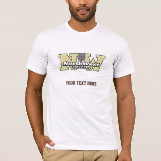 Noir du nord-ouest des bouledogues 7-9 t-shirt