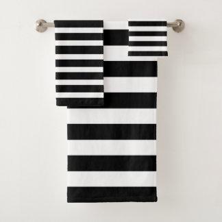 Noir et blanc barre la conception moderne