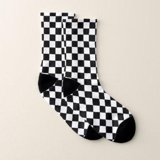 Noir et blanc Checkered