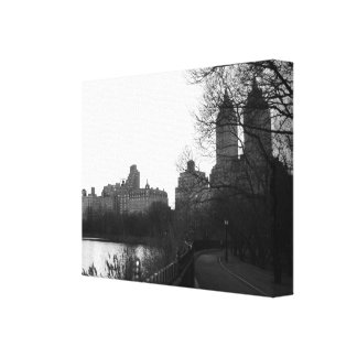 Noir et blanc de New York City NYC de Central Park Toiles