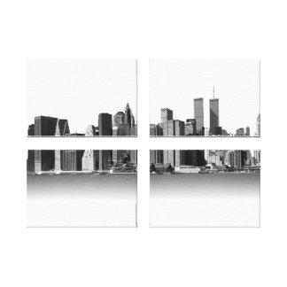 Noir et blanc de New York City Toiles