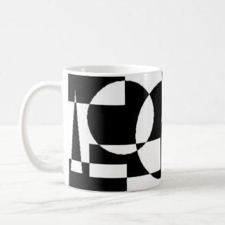 Noir et blanc mug